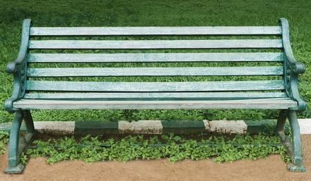 Bench in a botanical garden, Lal Bagh Botanical Garden, Bangalore, Karnataka, India