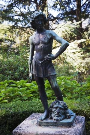 female likeness: Statue in a garden, Amalfi, Province Of Salerno, Campania, Italy
