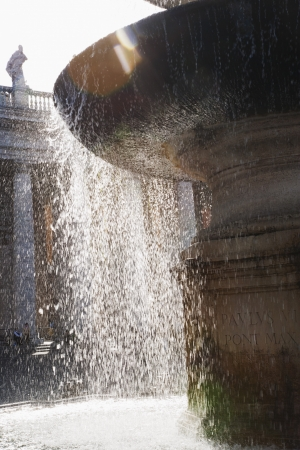 ciudad del vaticano: Fuente, Plaza de San Pedro, Ciudad del Vaticano