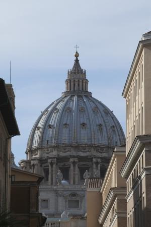 ciudad del vaticano: C�pula de la Bas�lica de San Pedro, Ciudad del Vaticano