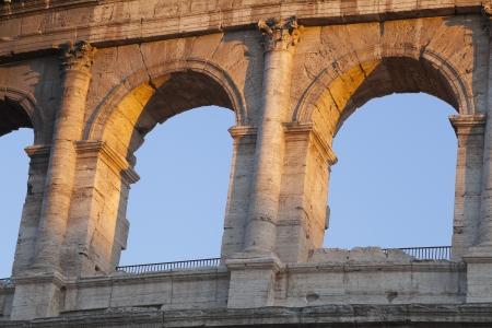 Amphitheater, Colosseum, Rome, Lazio, Italy