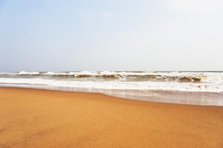 Waves on the beach, Puri, Orissa, India Stok Fotoğraf