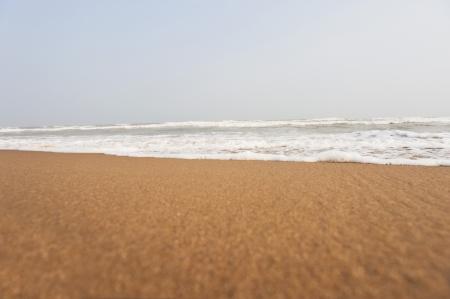 puri: Surf on the beach, Puri, Orissa, India