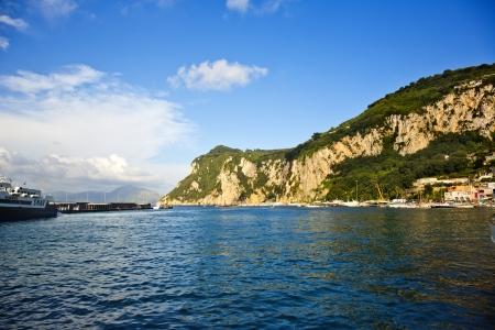 capri: Coast, Capri, Campania, Italy Stock Photo
