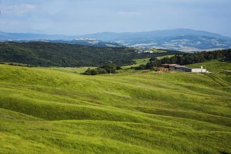 volterra: Landscape, Volterra, Province of Pisa, Tuscany, Italy
