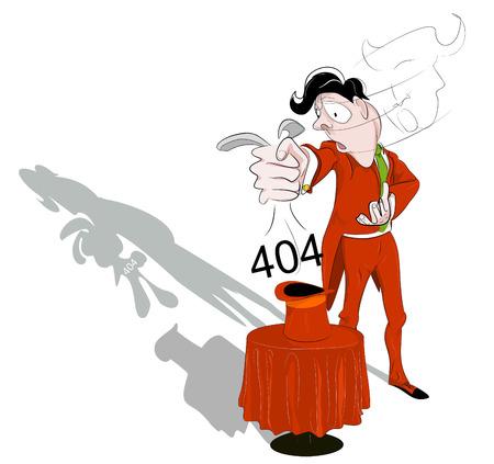 ne: Illustrative representation of how about a little magic trick