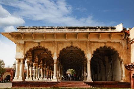 uttar pradesh: Diwan-E-Aam at Agra Fort, Agra, Uttar Pradesh, India Editorial