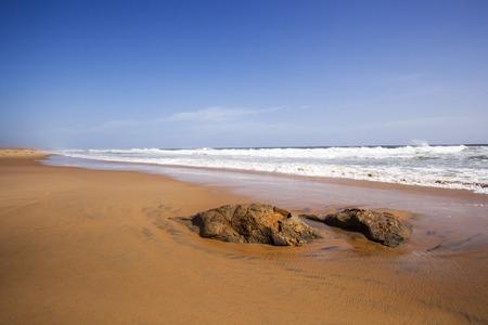 kovalam: Rocks on the beach, Kovalam, Kerala, India