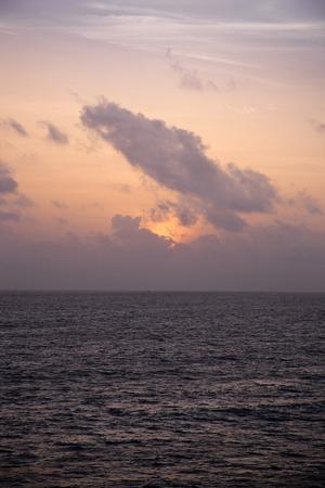varkala: Sunset over the sea, Varkala, Kerala, India