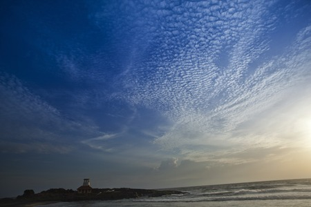 kovalam: Lighthouse on the coast, Kovalam, Kerala, India