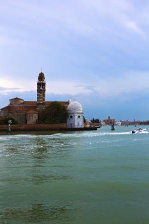 veneto: Buildings at waterfront, Venice, Veneto, Italy