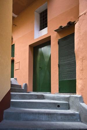 Eingang eines Gebäudes, Capri, Kampanien, Italien Standard-Bild - 33377003