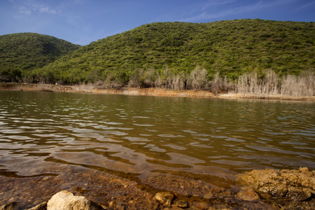 andhra: Lake in a park, Kambala Konda Eco Tourism Park (Majjisrinath), Visakhapatnam, Andhra Pradesh, India