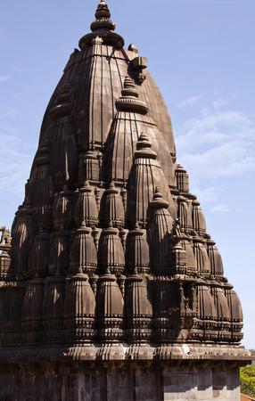 pune: Low angle view of a temple, Bhimashankar Temple, Pune, Maharashtra, India