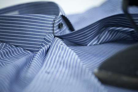 Close-up of a button down shirt Imagens - 29676119