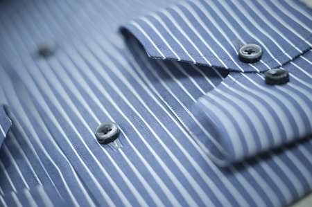 Close-up of a button down shirt Imagens - 29676172
