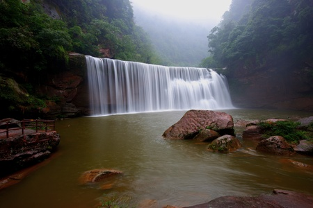 Water fall,Guizhou Province,China