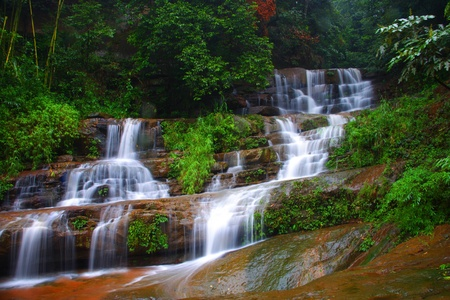 Water fall,Guizhou Province,China Stock Photo - 11874818