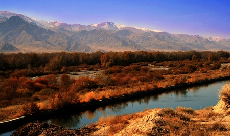 xinjiang: La province du Xinjiang, en Chine Banque d'images