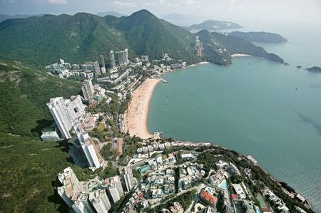 Urban scene in Hong Kong Redakční