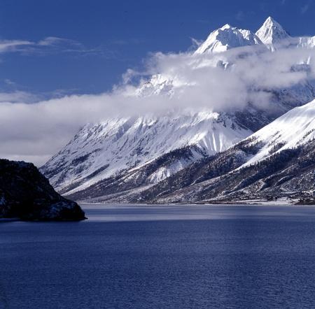 꼭대기가 눈으로 덮인: Snowcapped