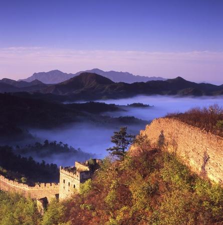 great wall of china: Qinhuangdao Stock Photo
