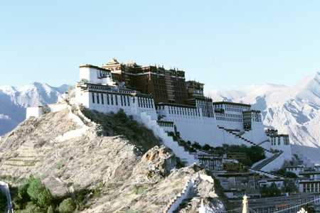 Beautiful scenics at Tibet