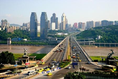 Cityscape in Chongqing, China
