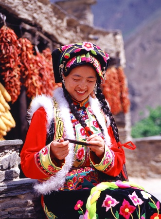 sichuan province: Beautiful Chinese Girl from Sichuan province