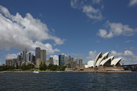 Sydney skyline opera house