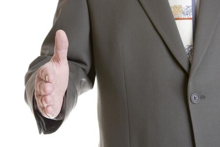 Businessman handshake  photo
