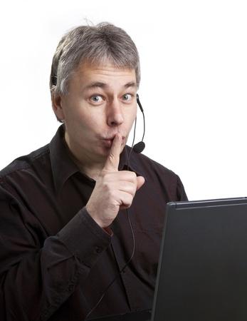no integrity: Dishonest businessman