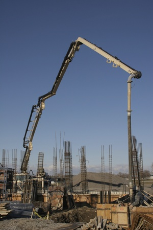 행동 시멘트 펌프