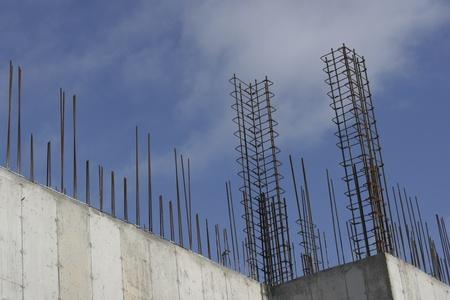 鉄筋補強新しい建設 写真素材 - 10522486