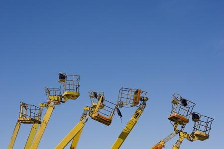 Cherry Picker (Construction Vehicle)  photo