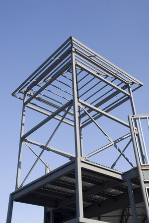 i beam: Steel framing