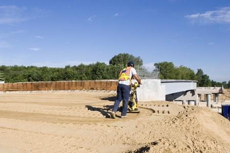 Pont en Construction Banque d'images - 10522511