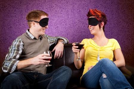 despedida de soltera: Cita a ciegas Foto de archivo