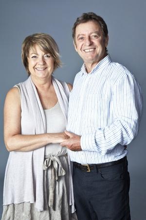 Senior couple portrait  photo