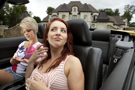 Narcissistic divas going for a drive  photo