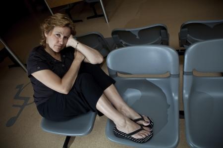 Long wait at the hospital waiting room photo