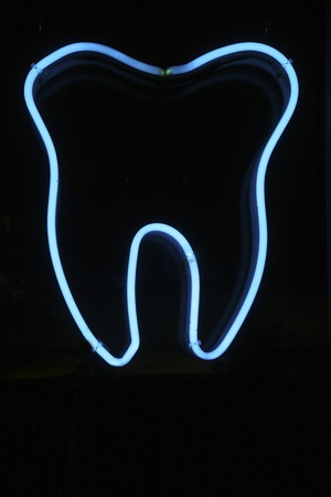 celphone: Blue tooth neon signage
