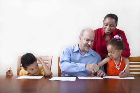 Quality family time Stock Photo - 10611906