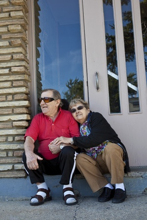 Seniors in love  photo