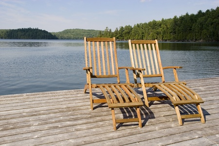 long lake: Your chair is waiting