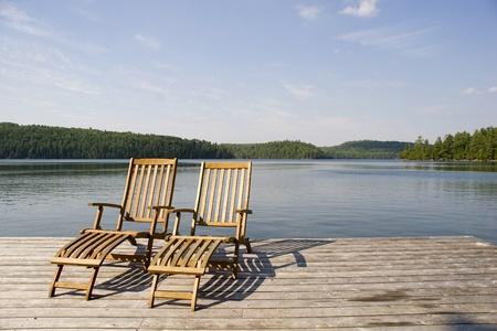 casa de campo: Su silla está esperando