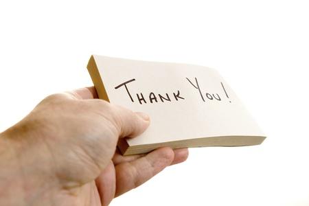 reconocimiento: Por dar una nota de agradecimiento