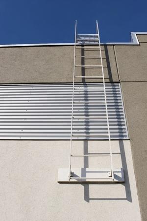 escape: Fire escape ladder  Stock Photo