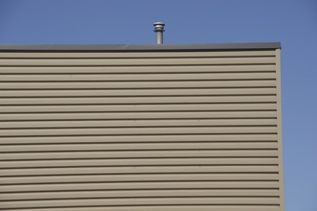 Flat Roof commercial building