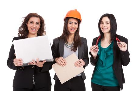 従業員の専門職の女性